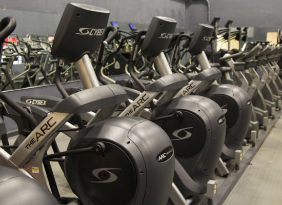 Amerifit fitness club cardio room 2