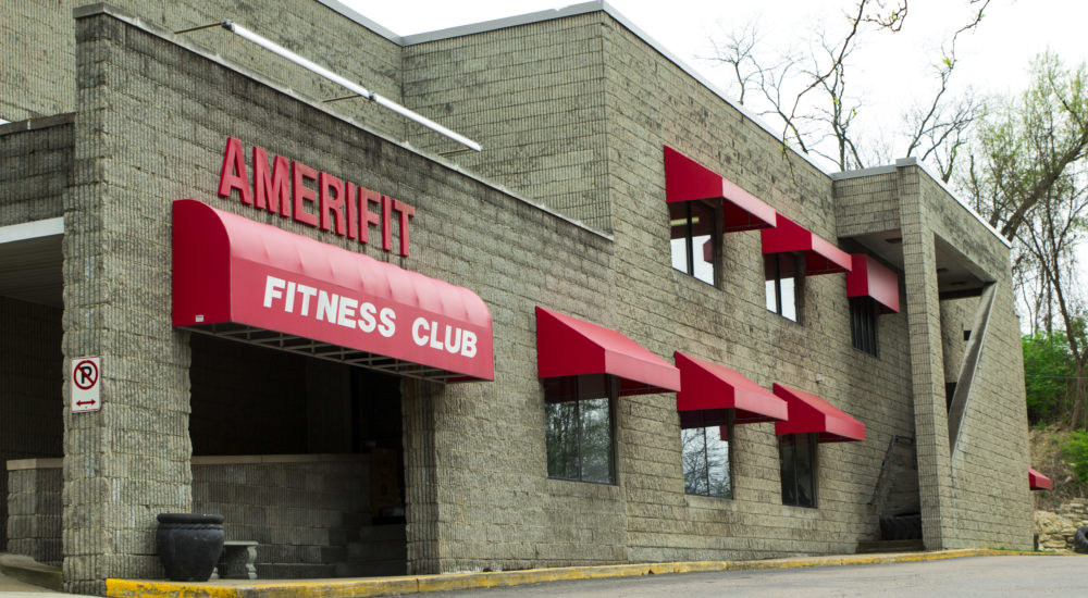 Amerifit fitness club front