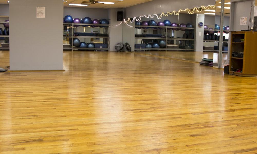Amerifit fitness club group fitness room