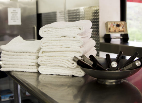 Amerifit fitness club towels