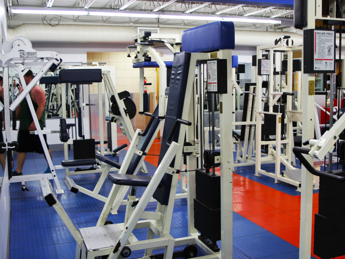 Amerifit front weight room 2