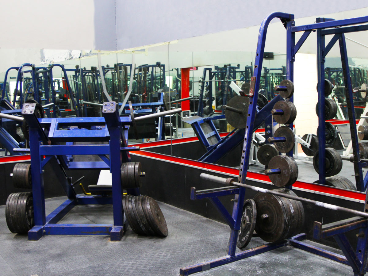 Back weight room 2