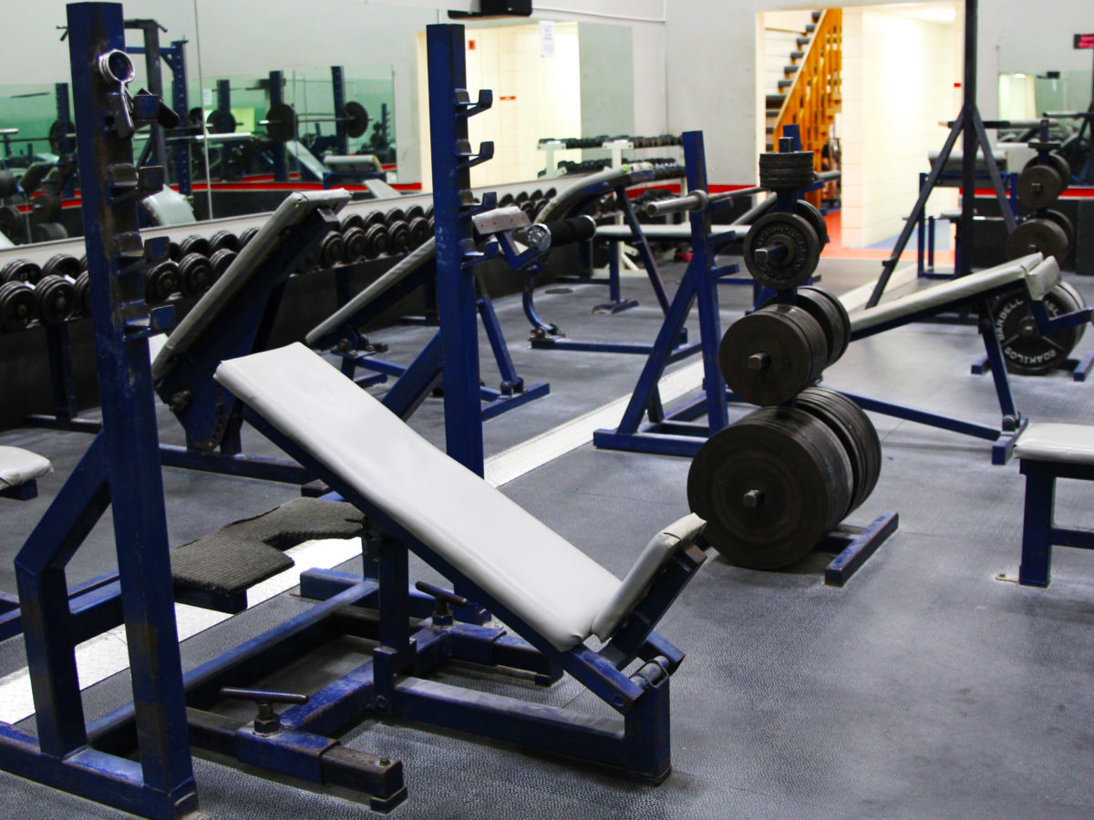 Back weight room 5